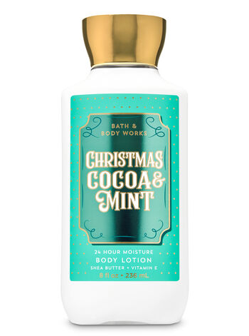 Christmas Cocoa & Mint Super Smooth Body Lotion - Bath And Body Works