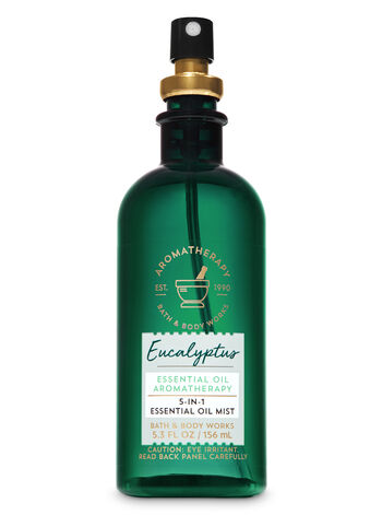 Aromatherapy Eucalyptus 5-in-1 Essential Oil Mist - Bath And Body Works