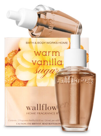 Warm Vanilla Sugar Wallflowers Refills, 2-Pack - Bath And Body Works