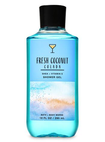 Fresh Coconut Colada Shower Gel - Bath And Body Works