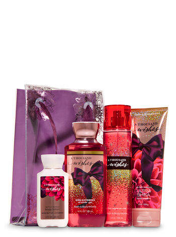 A Thousand Wishes Flower Power Gift Set - Bath And Body Works