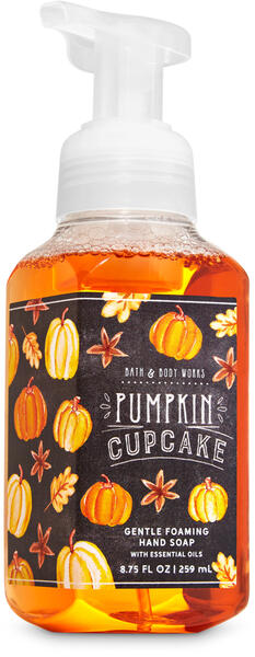Pumpkin Cupcake Gentle Foaming Hand Soap