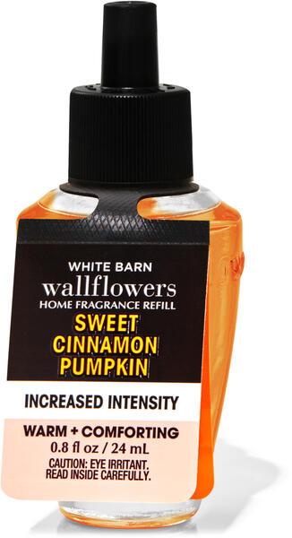 Sweet Cinnamon Pumpkin Increased Intensity Wallflowers Fragrance Refill