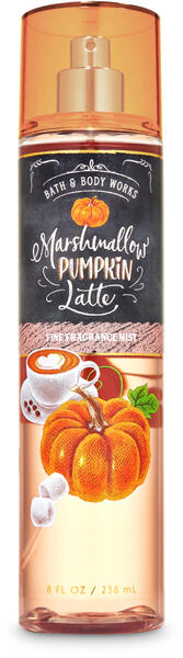 Marshmallow Pumpkin Latte Fine Fragrance Mist