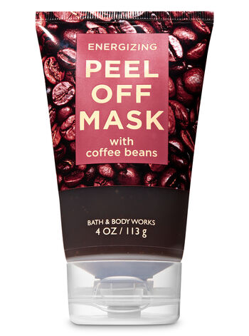 Energizing with Coffee Beans Peel Off Face Mask - Bath And Body Works