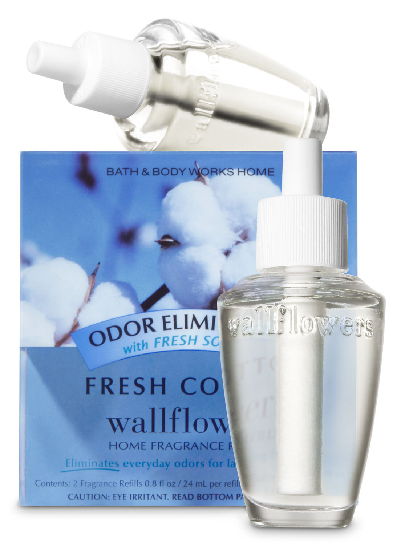 Fresh Cotton Odor Eliminating Wallflowers Refills, 2-Pack