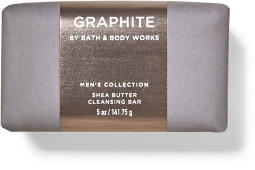 Graphite Shea Butter Cleansing Bar