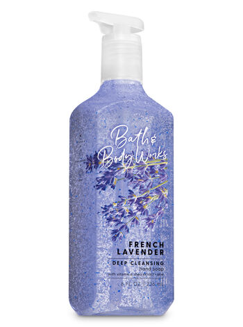 French Lavender Deep Cleansing Hand Soap - Bath And Body Works
