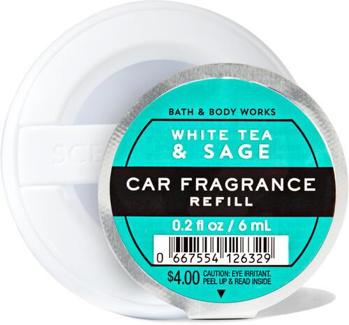 White Tea & Sage Car Fragrance Refill