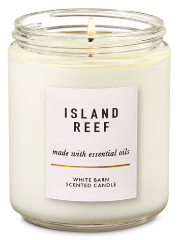 Island Reef Single Wick Candle - Bath And Body Works