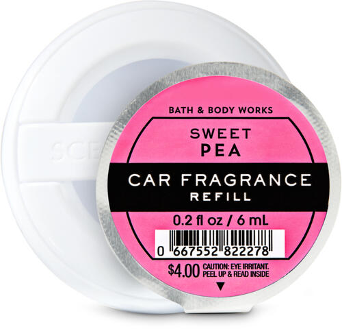 Sweet Pea Car Fragrance Refill