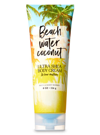 Signature Collection Beach Water Coconut Ultra Shea Body Cream - Bath And Body Works