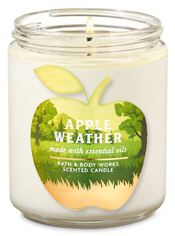 Apple Weather Single Wick Candle