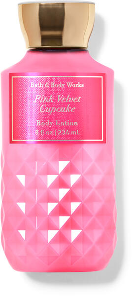 Pink Velvet Cupcake Super Smooth Body Lotion