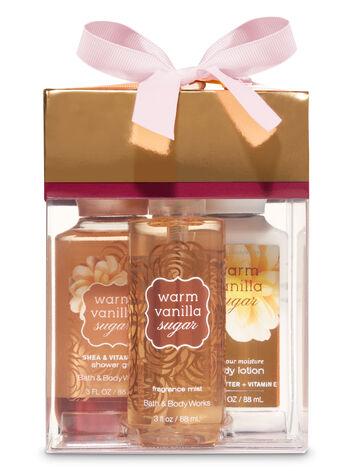 Warm Vanilla Sugar Mini Box Gift Set