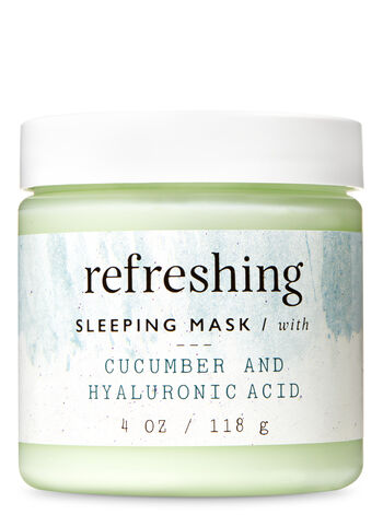 Refreshing with Cucumber & Hyaluronic Acid Sleeping Face Mask - Bath And Body Works