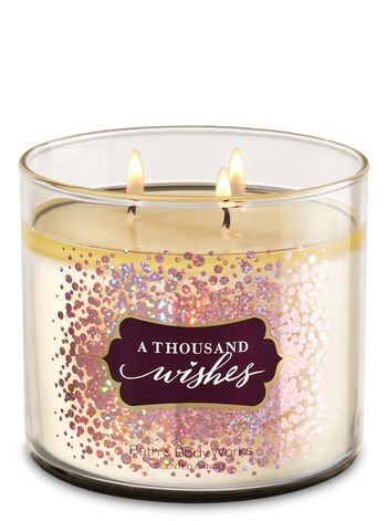 White Barn A Thousand Wishes 3-Wick Candle - Bath And Body Works