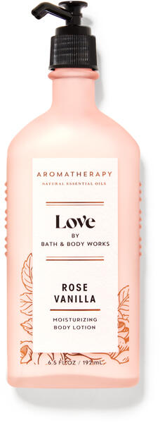 Rose Vanilla Body Lotion