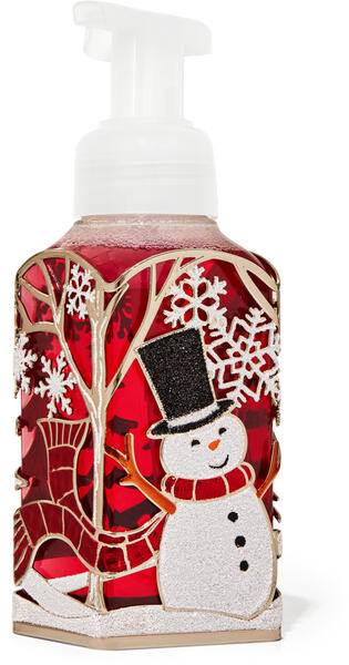 Joyful Snowman Gentle Foaming Soap Holder