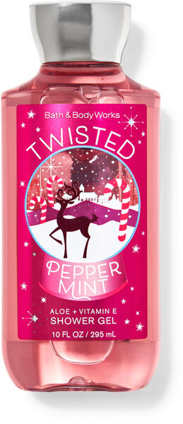 Twisted Peppermint Shower Gel