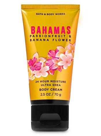 Bahamas Passionfruit & Banana Flower Travel Size Body Cream - Bath And Body Works