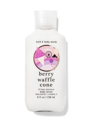 Berry Waffle Cone Super Smooth Body Lotion