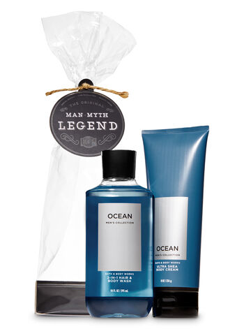 Ocean Man, Myth, Legend Gift Set - Bath And Body Works