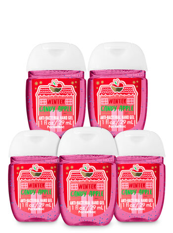 Winter Candy Apple PocketBac Hand Sanitizers, 5-Pack - Bath And Body Works