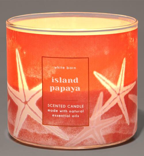 Island Papaya 3-Wick Candle