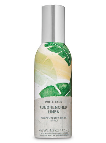 Sun-Drenched Linen Concentrated Room Spray - Bath And Body Works
