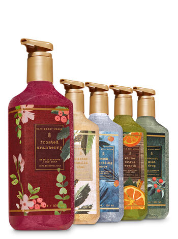 Nordic Noel Deep Cleansing Hand Soap, 5-Pack - Bath And Body Works