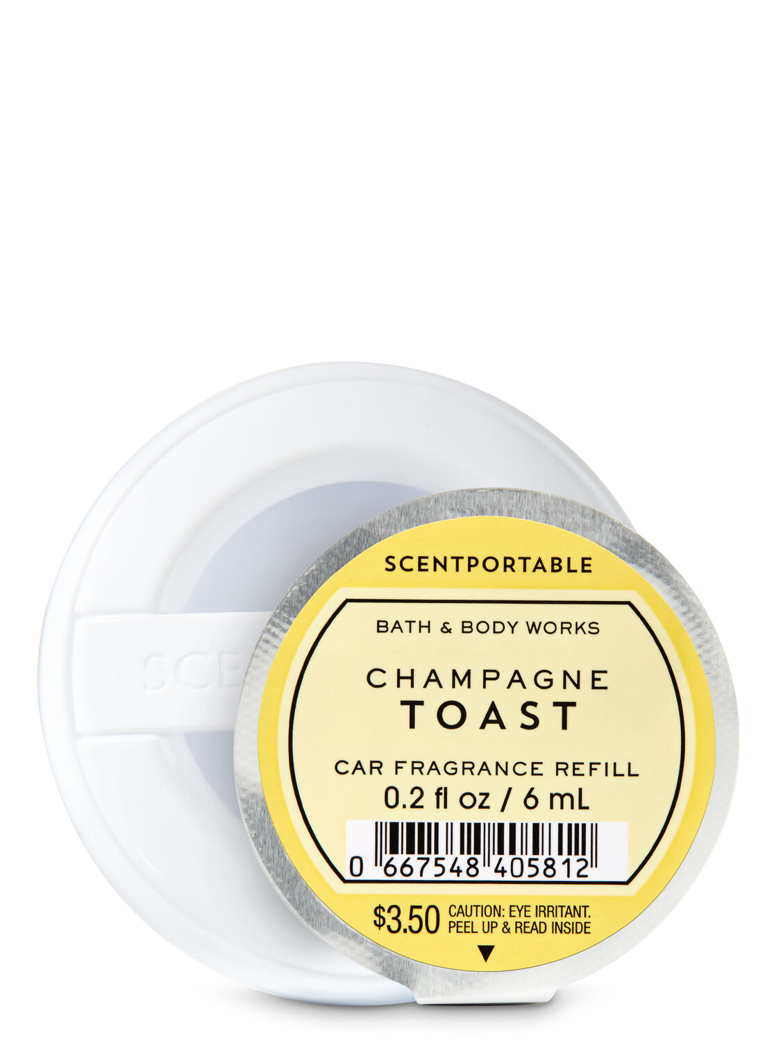 Champagne Toast Car Fragrance Refill