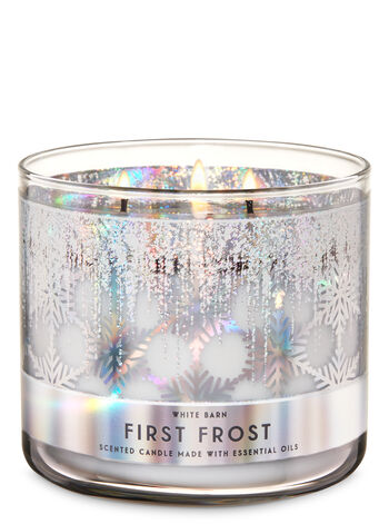 First Frost 3-Wick Candle - Bath And Body Works