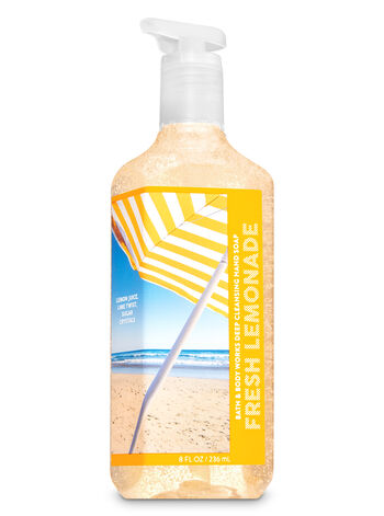 Fresh Lemonade Deep Cleansing Hand Soap - Bath And Body Works