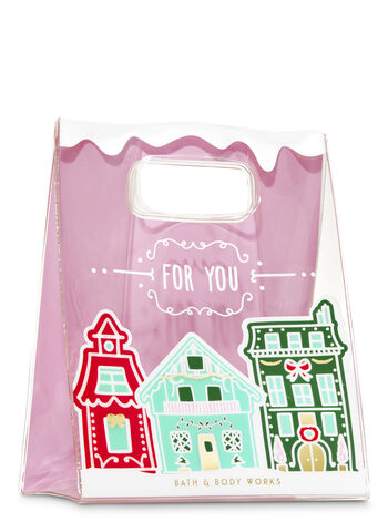 Gingerbread Village Gift Bag - Bath And Body Works
