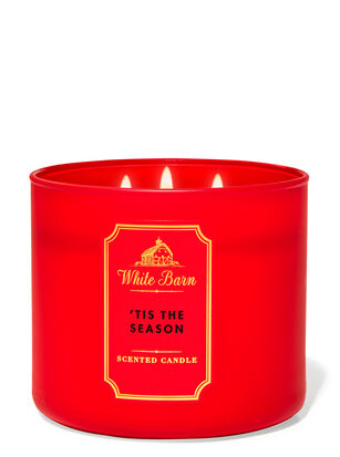 Tis the Season 3-Wick Candle