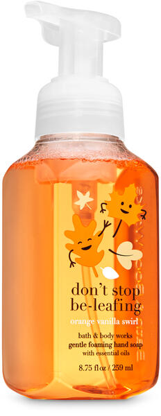 Orange Vanilla Swirl Gentle Foaming Hand Soap