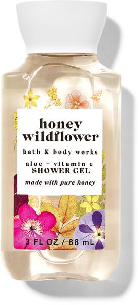Honey Wildflower Travel Size Shower Gel