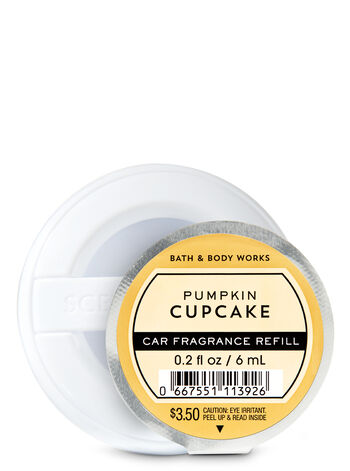 Pumpkin Cupcake Car Fragrance Refill - Bath And Body Works