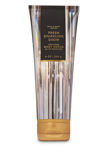 Fresh Sparkling Snow Ultra Shea Body Cream - Bath And Body Works