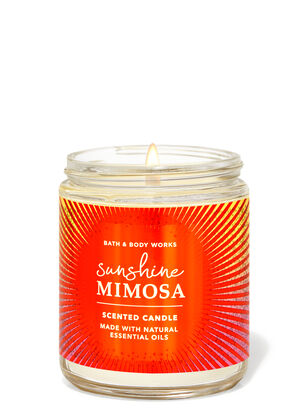 Sunshine Mimosa Single Wick Candle