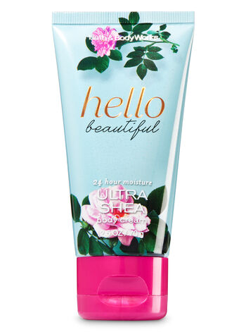 Signature Collection Hello Beautiful Travel Size Body Cream - Bath And Body Works