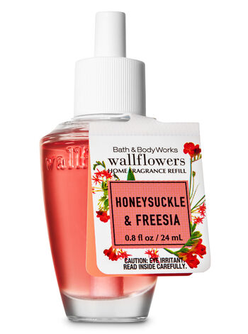 Honeysuckle & Freesia Wallflowers Fragrance Refill - Bath And Body Works