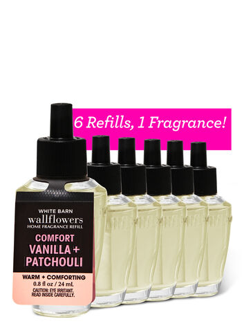 Vanilla Patchouli Wallflowers Refills, 6-Pack