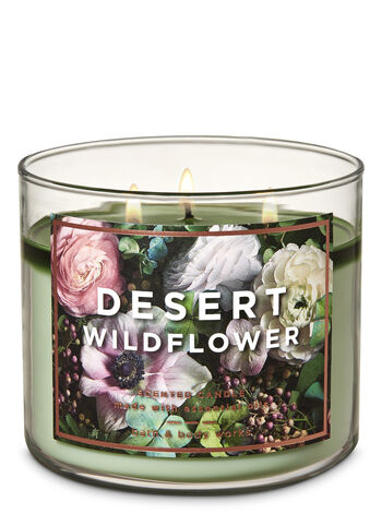 Desert Wildflower 3-Wick Candle - Bath And Body Works