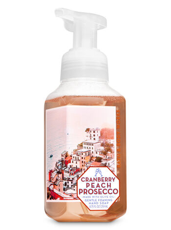 Cranberry Peach Prosecco Gentle Foaming Hand Soap - Bath And Body Works
