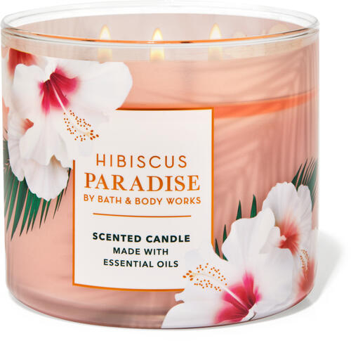 Hibiscus Paradise 3-Wick Candle