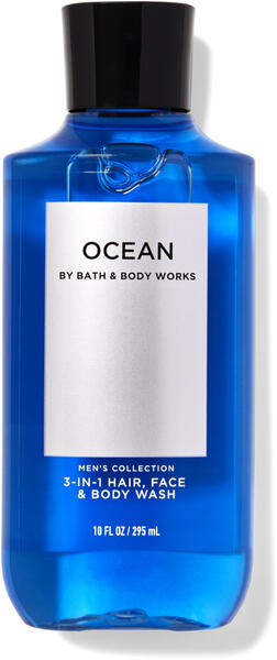 Ocean 3-in-1 Hair, Face & Body Wash