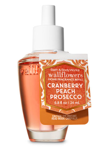 Cranberry Peach Prosecco Wallflowers Fragrance Refill - Bath And Body Works