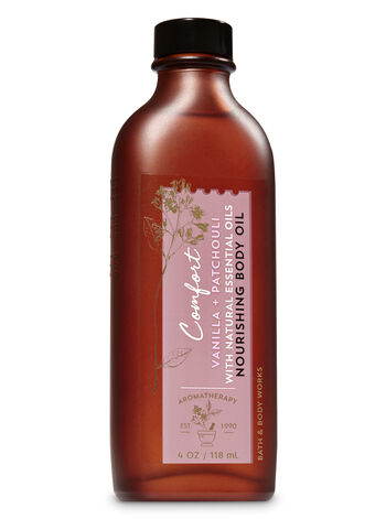 Aromatherapy Vanilla Patchouli Nourishing Body Oil - Bath And Body Works